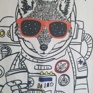 Cat & Jack Astronaut fox sleepshirt